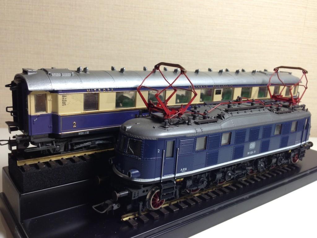 鉄道模型(HOゲージ)Maerklin E-Lok DB 118 024-9